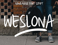 FREE | Weslona Font