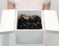 church service/compost bin
