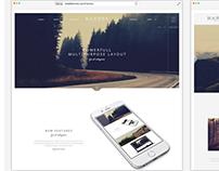 Narcos - Creative Multipurpose HTML template