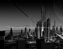 Sky City Concept Art