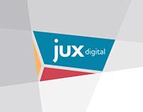 JUX Digital Logo & Identity