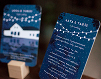 Wedding invitate card