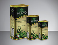Milano Olive Oil Packaging