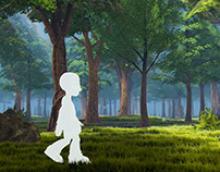 100 Mile Forest / Theater Scenography Animation Set