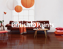 British Paints – Rebrand Packaging
