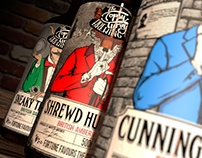 """Topsy Turvy Microbrewery. """"Fortune Favours the Crafty"""""""