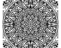 Circle Zentangle