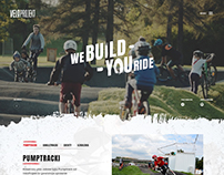 VELOPROJEKT - BMX, Bikers Pumptracks Website