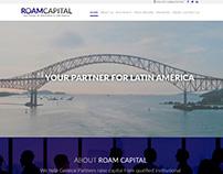 Ui/Ux designer - Mockup: Roam Capital