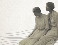 Breathing and dreaming, motion graphic art