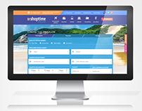 Shoptime Viagens - Design e Arquitetura da informação