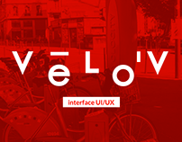 VÉLO'V - Interface UX/UI