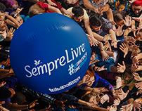 Backdrop Sempre Livre - Lollapalooza 2015