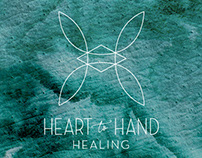 Heart to Hand Healing Logo