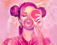 Gummy girl