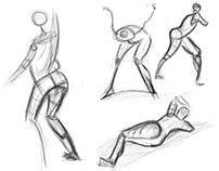 human figure study