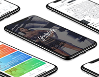 Yorkdale Mall iOS App Concept - UX/UI