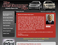 The DeNooyer Edge Microsite - Web Design