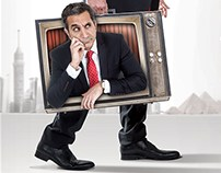 Bassem Youssef - Season II Billboards for MBC