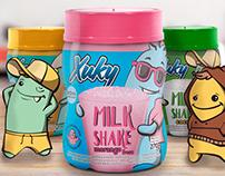 Embalagem de Milk-Shake Bretzke