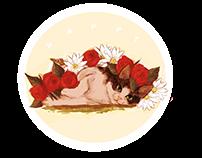 Cat Sticker Design