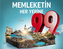 Turkish Airlines National Discount Campaign
