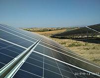 500KWp solar park in Schimatari Attica