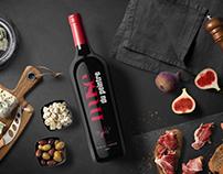 Wine Brand Identity, Packaging, & Advertising.
