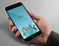 Localite - Travel App Splash Screen