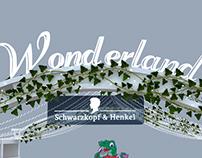 Henkel Wonderland Stand exhibition design