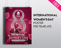 Free International Women's Day Poster IN PSD