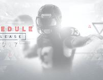 NFL NETWORK: SCHEDULE RELEASE 2017