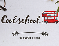 Cool School - logo&web