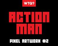 ACTION MAN #PIXEL-ART #GAME