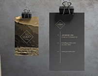 Ember - Business Card Template