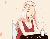 Waiting | Digital Illustration
