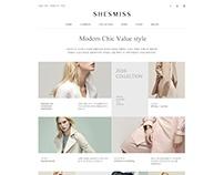 SHESMISS Redesign - Design by Kim-hana - www.uksweb.com
