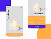 Concept Product App UI