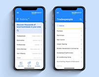 2019 Localsearch App - Redesign (UX+UI)