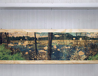 Kent Marsh / print on plywood