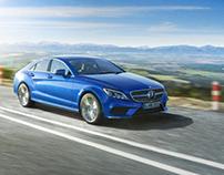 Mercedes-Benz CLS   CGI