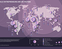 Female Entrepreneurs Infographics
