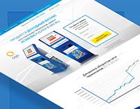 Landing Page по продаже доходного бизнеса