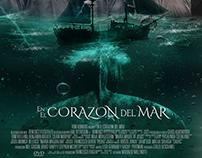 Cartel Cine / En el corazon del Mar