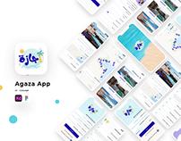Agaza App Design