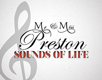 Mr & Miss Preston: Sounds of Life album covers