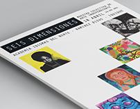6 Dimensiones / Muestra colectiva de arte independiente
