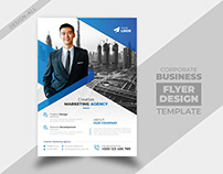 Business Flyer and Brochure Cover Page Design Template