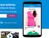Mall4G Online Stores Redesign