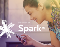 Concept for Spark NZ